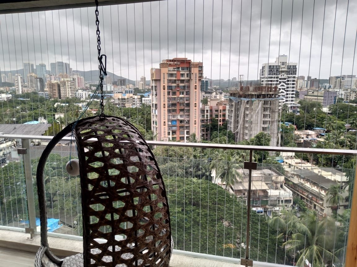 invisible grill for balcony